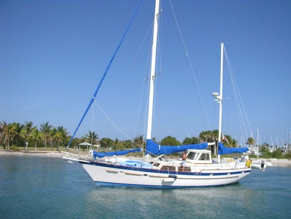 52' sailboat for charter 12 pax