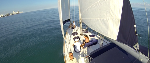 Beneteau sailboat for charter in Miami