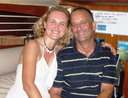 Miami Sailing crew - Miguel and Agata