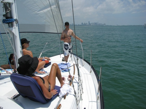 Sailing weekend getaway in miami miami sailing private for Weekend getaway from miami