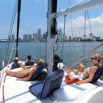 Semi Private Miami Sightseeing Tours on Sailboat