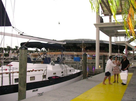 Private sailboat cruise Miami
