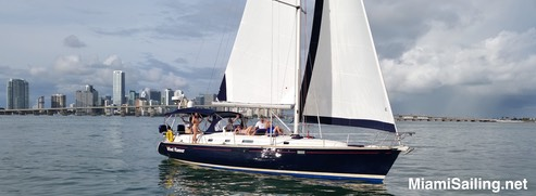 Private Sailing on Biscayne Bay Miam